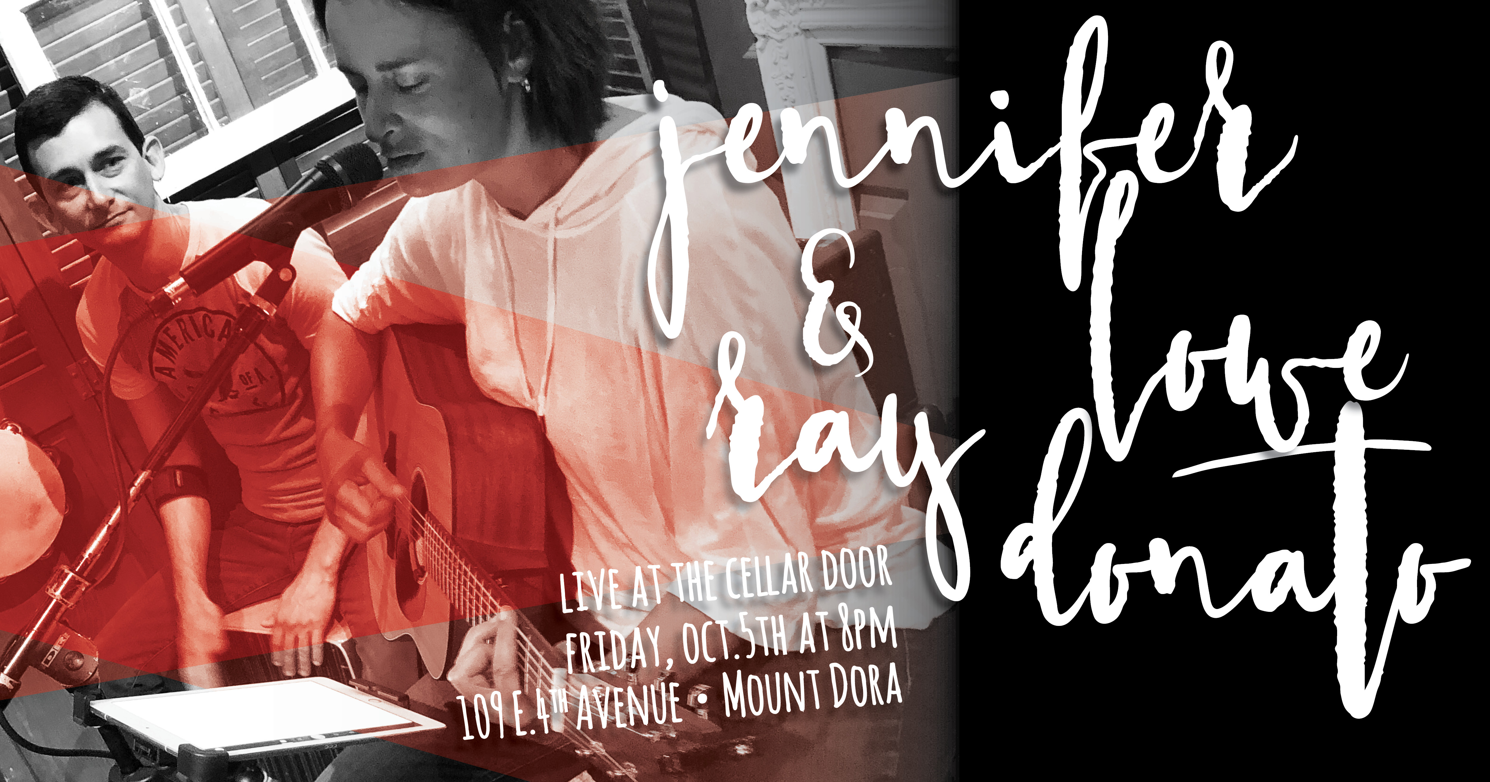 Jennifer Lowe & Ray Donato: Live at The Cellar Door – the
